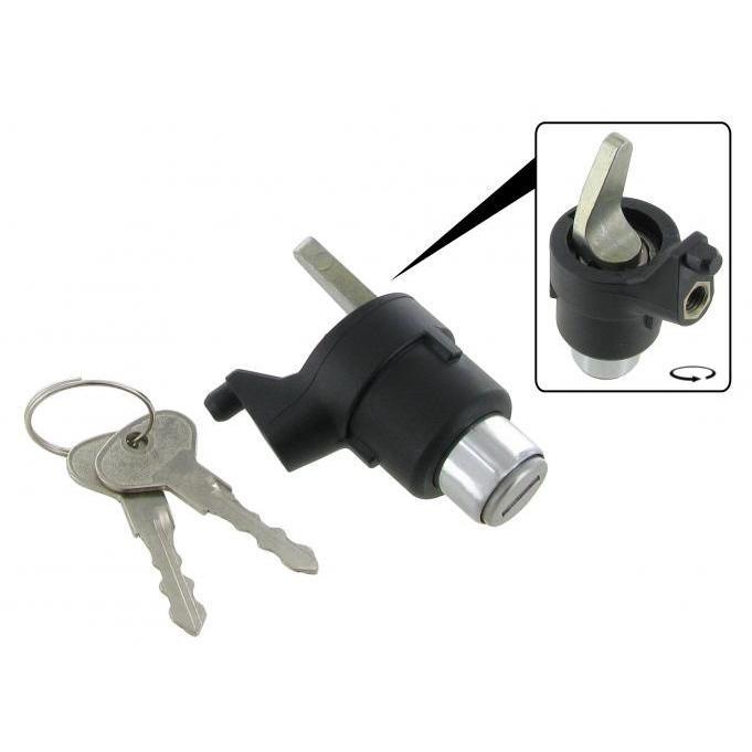 Achterklepslot met 2 sleutels [ > 08/83 ]