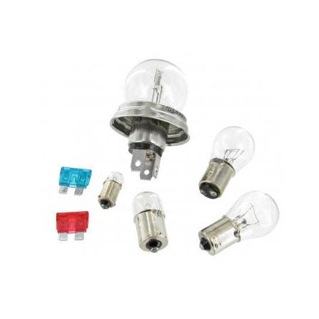 Lampen setje 12 Volt met duplo koplamp