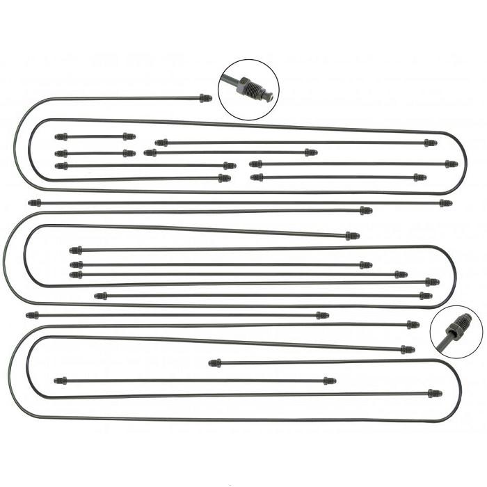 Remleidingset 18 delig Syncro met ABS