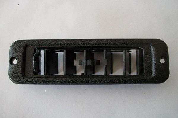 Ventilatierooster in dakrand ( geschroefd )