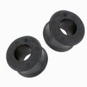 Rubbersteun rond per paar ( 21mm )